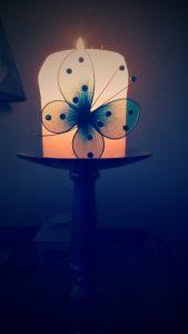 Kaars vlinder ali