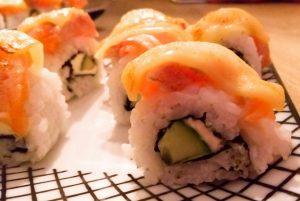sushi zalm